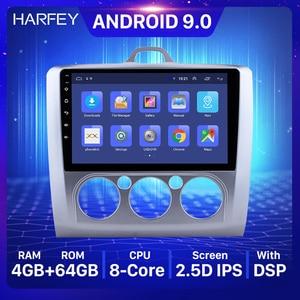Image 1 - Harfey 2DIN 9 Inch Dành Cho 2004 2011 Ford Focus 2 Xe Ô Tô Tự Động Đa Phương Tiện Android 8.1 Đài Phát Thanh GPS 3 wifi OBD2 RDS Bluetooth SWC