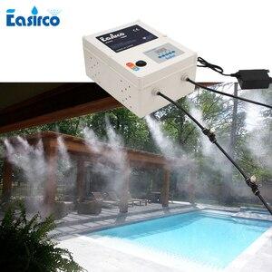 Image 1 - 40pcs nozzle  antiseptic mist anti virus disinfection machine Outdoor mist cooling system 40pcs nozzle sprinkler Mist maker