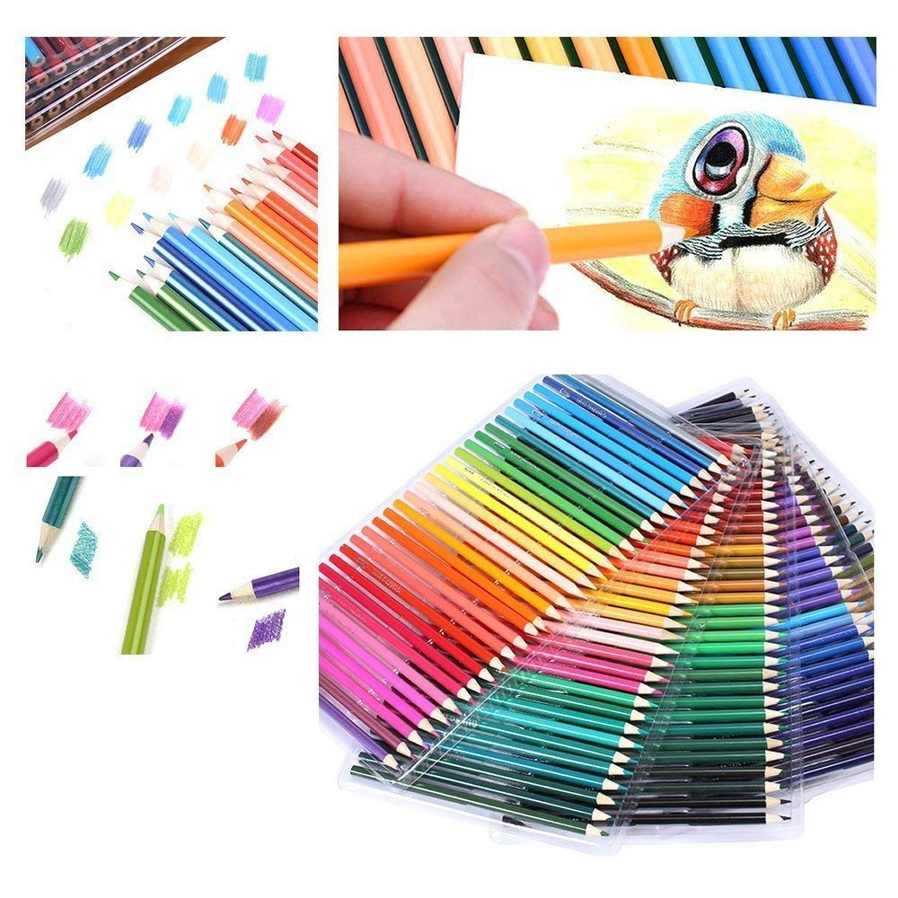 120 Colouring Pencils - 120 Unique Coloured Pencils and Pre Sharpened Crayons for Coloring Book,Ideal Gift for Artists 6