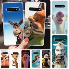 Wumeiyuan Funny expression TPU Soft Phone Case Cover For Samsung S6 S7 S7 edge S8 S8 Plus S9 S9 Plus S10 S10 plus S10 E(lite) medicine nurse doctor dentist soft edge phone cases for samsung s6 edge plus s7 edge s8 s9 s10 plus lite e note8 note9 cover