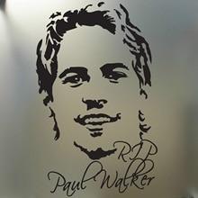 Для RIP Пол Уокер быстрый и яростный евро дрейф JDM гоночная наклейка портрет лица