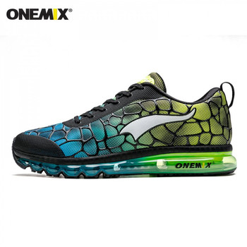 ONEMIX Men Running Shoes Breathable Outdoor Damping Trekking Footwear Walking Sneakers Man Winter Tennis Athletic Trainer Shoes 1