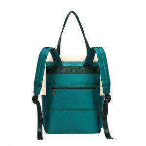Image 2 - Waterproof Fashion Laptop Backpack Women Backpack for Laptop 15 15.6 inch Female Double Shoulder bag 2019