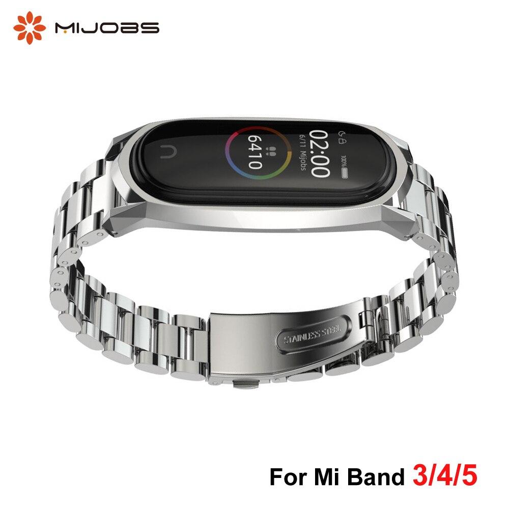 Купить металлический браслет из нержавеющей стали для xiaomi mi band