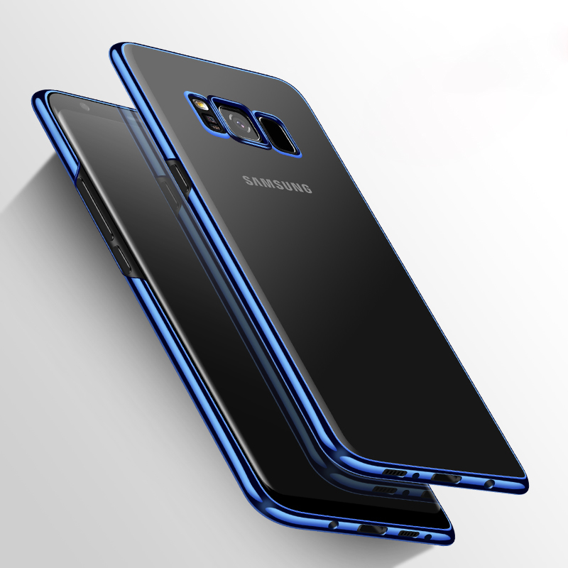 Luxury Plating TPU <font><b>Case</b></font> <font><b>for</b></font> <font><b>Samsung</b></font> <font><b>Galaxy</b></font> S9 S8 Plus S6 S7 Edge S5 S4 A3 A5 J3 J5 J7 2016 <font><b>2017</b></font> Grand Prime Note <font><b>5</b></font> 8 <font><b>Case</b></font> image