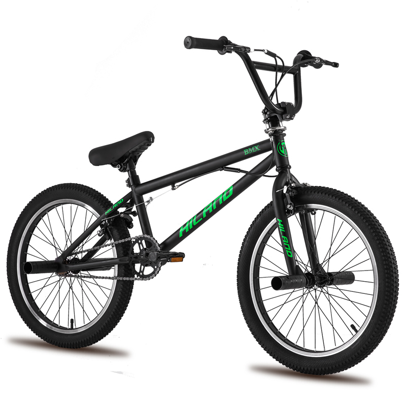 5 Color Russian warehouse 20'' BMX Bike Freestyle Steel Bicycle Bike Double Caliper Brake Show Bike Stunt Acrobatic Bike