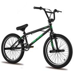 5 cores armazém russo 20 bbbmx bicicleta de aço livre bicicleta dupla pinça freio mostrar acrobacia bicicleta