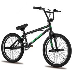 5 di colore Russo magazzino 20 ''BMX Bike Freestyle In Acciaio Della Bici Della Bicicletta Doppia Pinza Freno Mostra Bike Stunt Acrobatico Bici