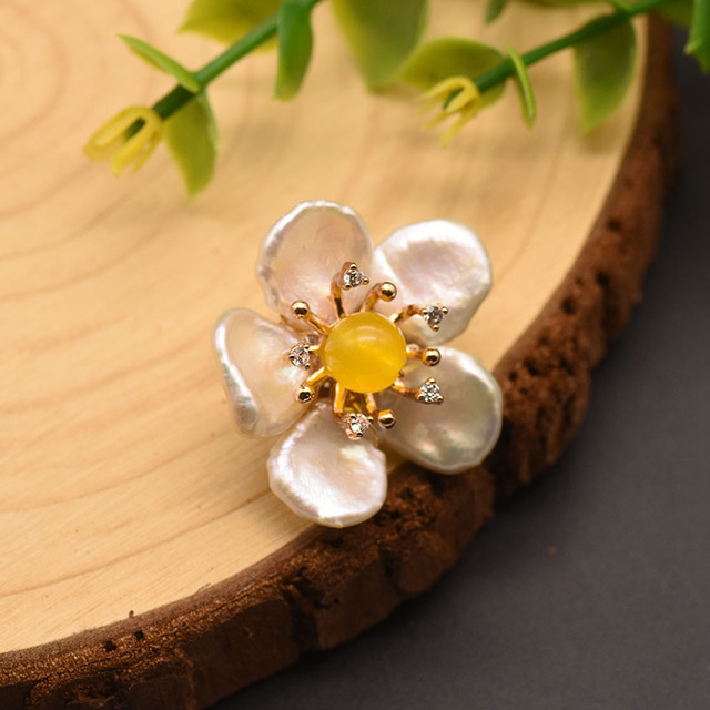 Glseevo 100% натуральный барокко белый жемчуг Высокое качество