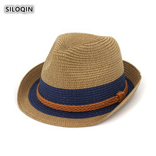 SILOQIN Panama Ladies Cap New Trend Woman Fedoras Leisure Tourism Casquette Motion Mountaineering Sunshade Hat Sombreros
