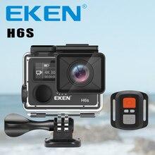กล้อง Deportiva EKEN H6S Ultra HD 4 K WiFi EIS อิเล็กทรอนิกส์ระบบป้องกันภาพสั่นไหว Go กันน้ำ 1080 P Pro Sport DV กล้อง