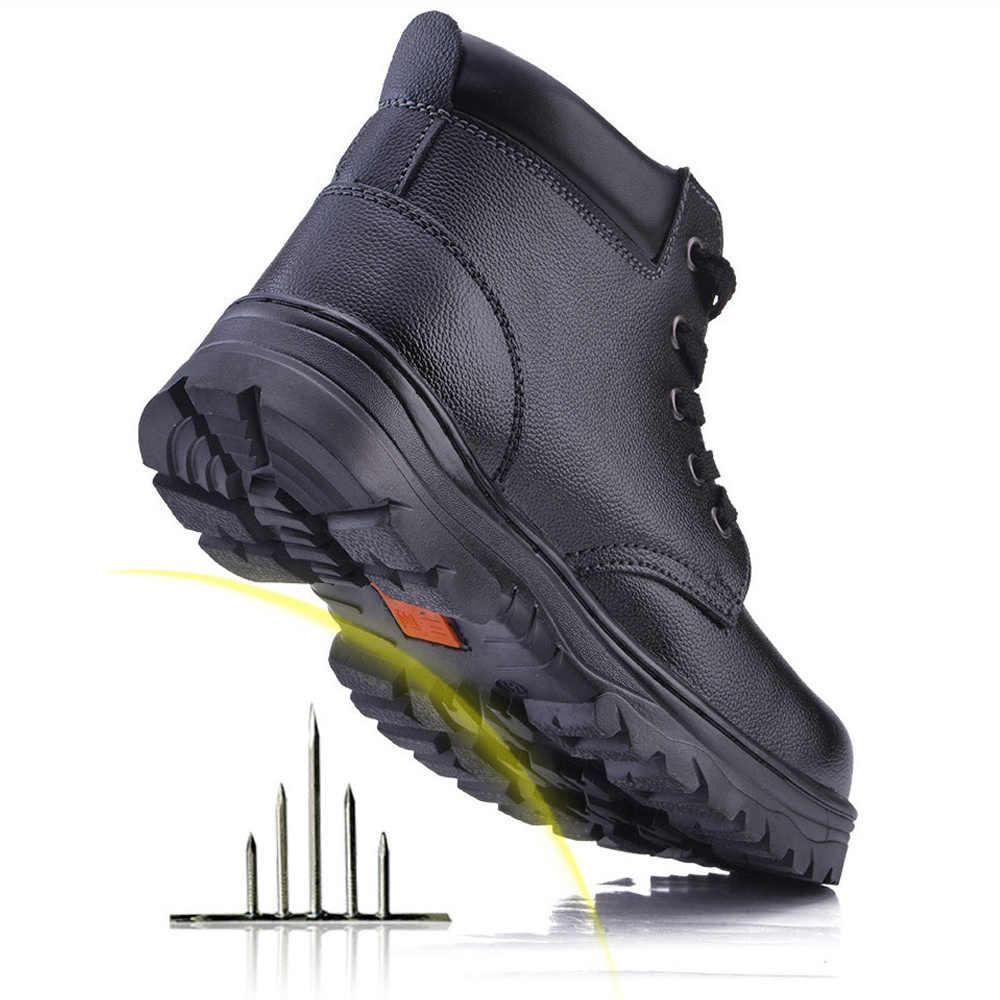 SITAILE rahat erkek çelik ayak iş ayakkabısı rahat açık ayakkabı delinme geçirmez botları endüstriyel güvenlik ayakkabıları