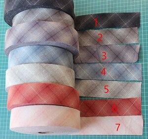4 см сетка хлопок разворачивается уклон связывания Лоскутная лента, швейная отделка материал покрытый платье-изготовление ремесло обивка т...
