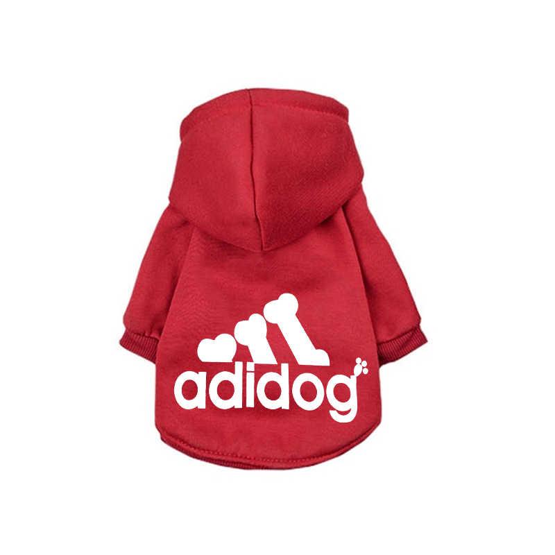 Cane di modo Con Cappuccio di Inverno Dell'animale Domestico Vestiti Del Cane Per I Cani Cappotto Giacca di Cotone Ropa Perro Bulldog Francese di Abbigliamento Per Cani Animali Domestici abbigliamento