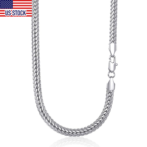6mm Womens Mens Necklace Chain