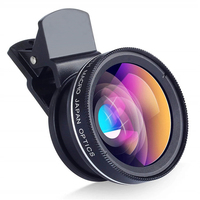 TOKOHANSUN 0,45x szeroki kąt + 12,5x obiektyw makro profesjonalny obiektyw aparatu HD telefon komórkowy dla iPhone X 8 7 6 6S Plus Xiaomi Samsung