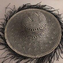 Соломенная шляпа от солнца lvtzj для женщин большая пляжная