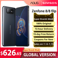 ASUS Zenfone 8/8 filp Global Version Snapdragon 888 8/16GB RAM 128/256GB ROM AMOLED IP68 Water-Proof Android OTA 5G Smartphone