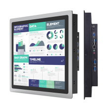 12% 22 10 15 дюймов Industrial Panel all in one PC mini Computer Capacitive Touch core i3 i5 i7 with RS232 com Windows 10 Pro Вай-фай