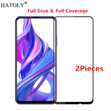 2Pcs For Huawei Honor 9X Glass Tempered Glass for Huawei Honor 9X Film HD Screen Protector Protective Glass for Huawei Honor 9X protective tempered glass screen guard membrane for huawei honor 6 transparent