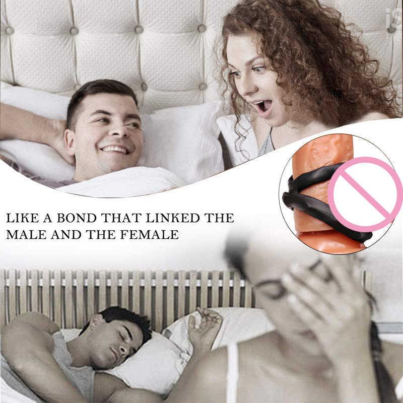 זוג סקסי צעצוע, אלסטי עיכוב טבעת, רטט זין נמתח דגדגן אינטנסיבי גירוי, שפיכה מוקדמת נעילת ויברטור
