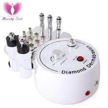Красота звезда алмазная микродермабразия машина большой вакуумный всасывающий спрей терапия ДЕРМАБРАЗИЯ пилинг лица Отшелушивающий уход за кожей