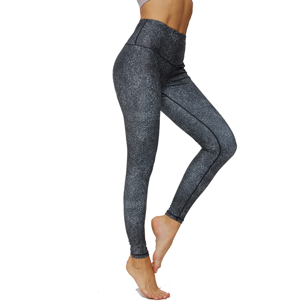 Sexy Push Up Leggings Women Workout Clothing High Waist Leggins Female Breathable Printing Fitness Pants Ladies Gym Sports