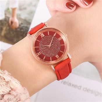 Fashion Women's Luxury Watches Quartz Watch Stainless Steel Dial Casual Bracele Quartz Wrist Watch Clock Gift Outdoor #40