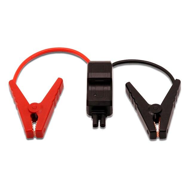 Gkfly alta qualidade inteligente clipes para 12v carro saltar arranque proteção contra curto circuito cabo inteligente para dispositivo de partida para carro arranque