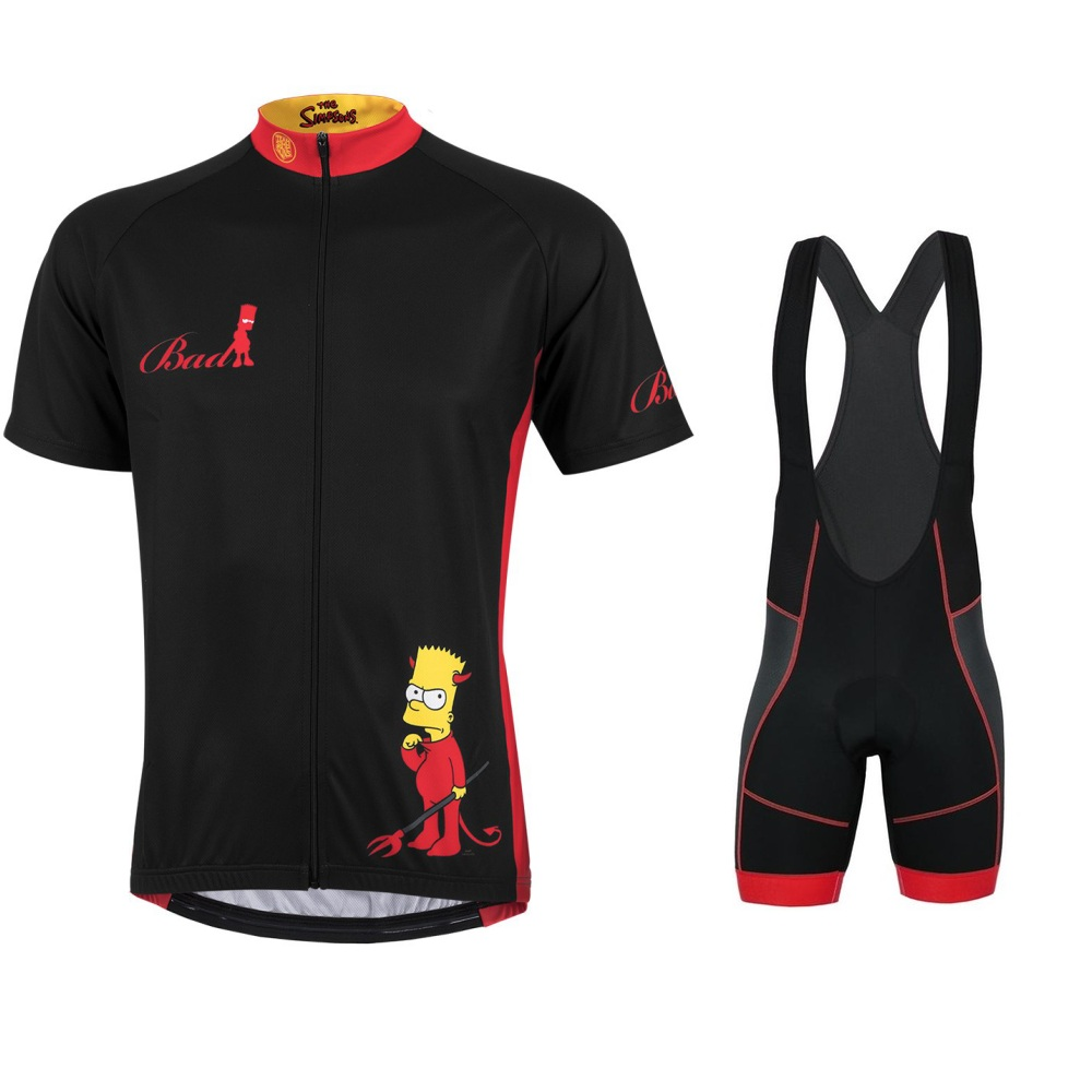 SIMPSONS-cycling-clothing-2019-Pro-team-cycling-Jersey-Men-Summer-road-bike-set