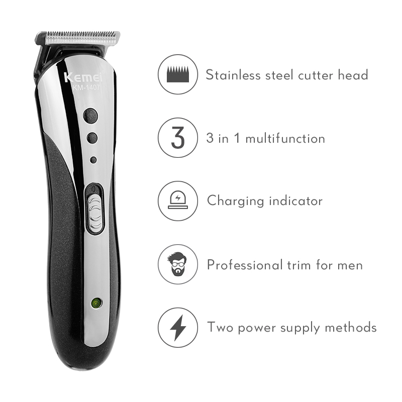 máquina de cortar cabelo multifuncional aparador cabelo