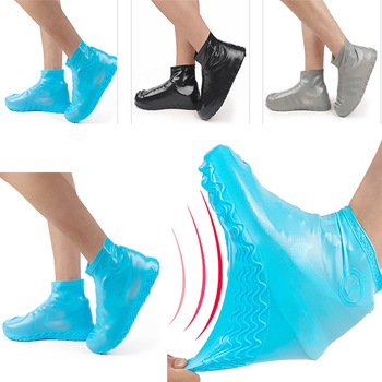 Reusable Waterproof Shoes Covers Unisex Non-slip Rain Shoe Covers Silicone Shoe Covers Outdoor Camping S/M/L Shoes Accessories waterproof shoes cover waterproof silicone waterproof outdoor rainproof hiking skate shoes covers camping accessories