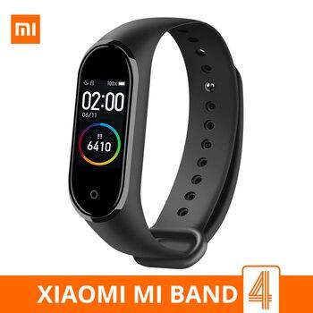Xiaomi Mi Band 4 Smart Bracelet 3 Color AMOLED Screen Waterproof Miband 4 Smartband Fitness Traker Bluetooth Sport Smart Band