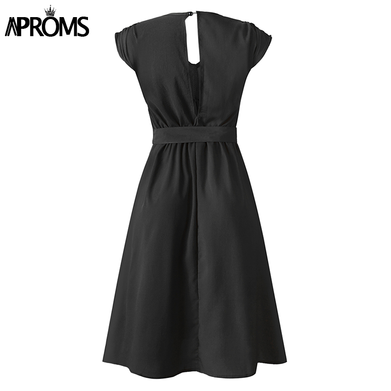 Aproms Vintage Stripe Print Midi Dress Women Elegant Deep V Sash Tie Up Bodycon Dresses Female Summer Streetwear Sundresses 19 25