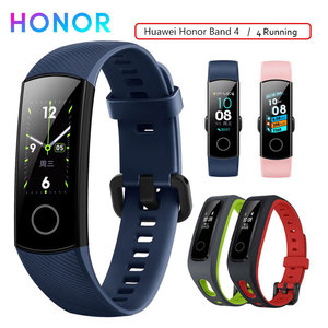 Image 1 - Honor Band 4 Smart Wristband Fitness Bracelet Tracker Waterproof Real time Activity Tracker Wearable Devices Sleep Snap