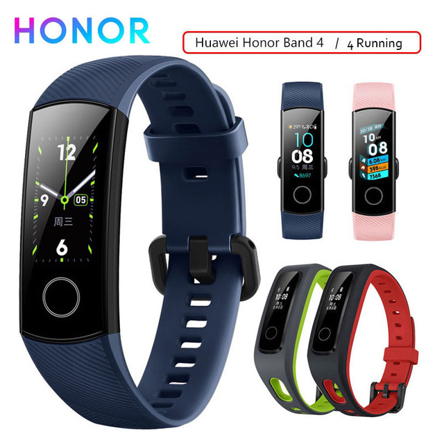 Honor Band 4 Smart Wristband Fitness Bracelet Tracker Waterproof Real time Activity Tracker Wearable Devices Sleep Snap