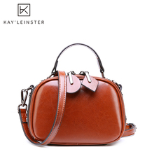 New Genuine Leather Women Handbag Large Capacity Female Shoulder Bags Double Zip
