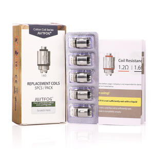 JUSTFOG Organic Coil-Suit Q16 Q14 Starter-Kit Cotton And P16A for Q14/s14 G14 C14 Bigsale
