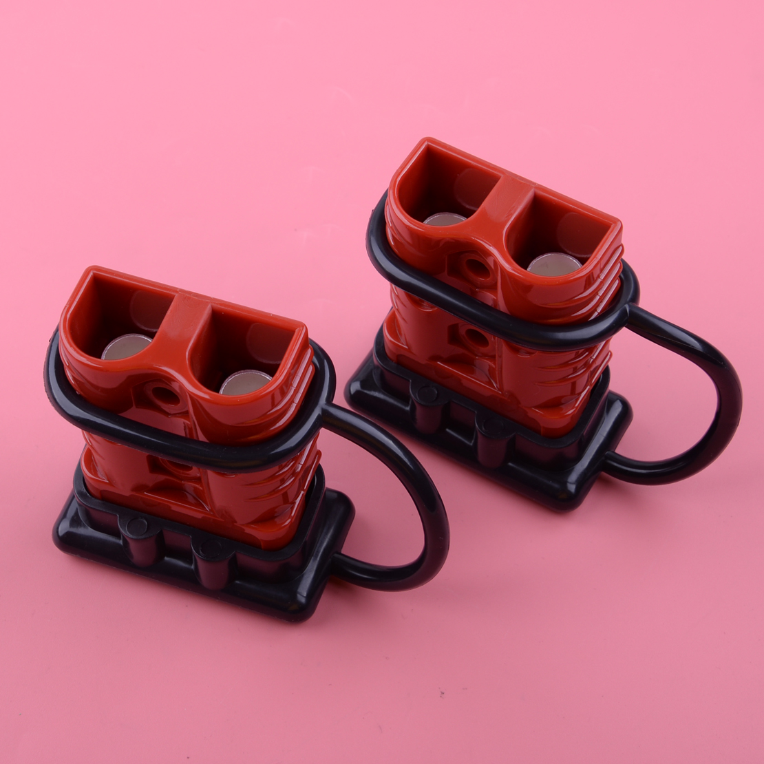 LETAOSK 2Pcs 175A Quick Battery Connector Winch Trailer Connect Disconnect Wire Harness Plug 600V