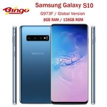 Samsung Galaxy S10 G973F Globale Version Entsperrt Handy Exynos 9820 Octa Core 6.1