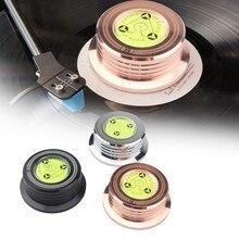 2021 neue Universal 50Hz LP Vinyl Record Player Disc Plattenspieler Stabilisator Gewicht Clamp