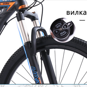 Image 4 - wolfs fang bicycle Mountain Bike 27speed 29Inch road bikes mtb New bmx Aluminum alloy Fat Front And Rear Mechanical Disc Brake