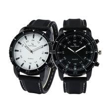 Часы наручные с большим циферблатом Пара спортивных модных часов