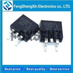 Image 1 - 100 ピース/ロット STGB10NB37LZ GB10NB37LZ に STGB10NB37 263 点火ドライバ IC チップ