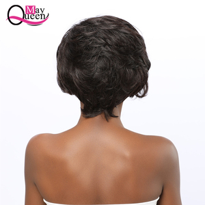 Image 5 - Pixie Cut Wig 13x4 Short Lace Front Human Hair Wigs Pre Plucked With Baby Hair Lace Frontal Wig Brazilian Hair