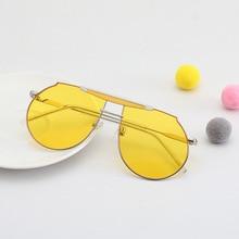 Sunglasses Boys Tinted Girls Kids Children Metal-Frame Color-Lens Classic Travel UV400