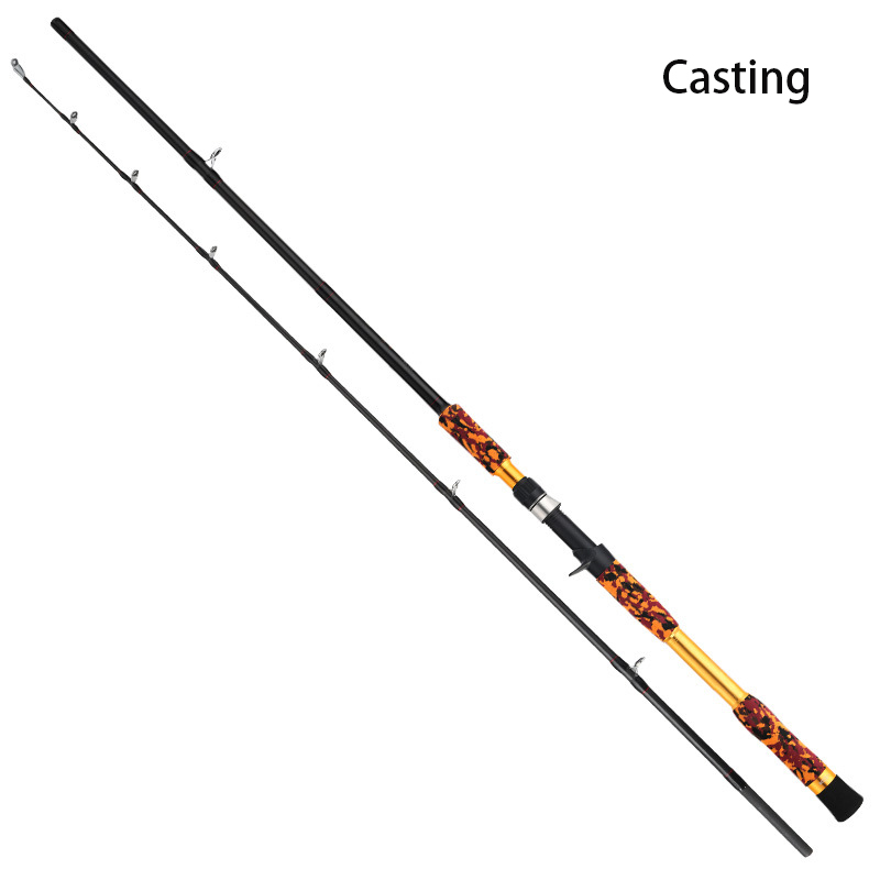 2.28m Hengel XH Power 2 Sectie Afstand Throw Staaf Spinning Casting Oceaan Boot Hengel title=