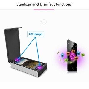 Image 5 - Uv Desinfecteren Ultraviolet Maskers Sterilisator Box Mobiele Telefoon Usb Opladen Desinfectie Cleaner Box BIW 18