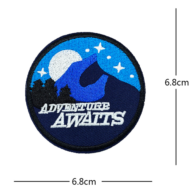 4cm Iron On Patches Badge Patch Sewing - Embroidery Patch Custom Patches BOMALINE \u2018Baby Dino\u2019 Iron On Patch Appliques Clothes