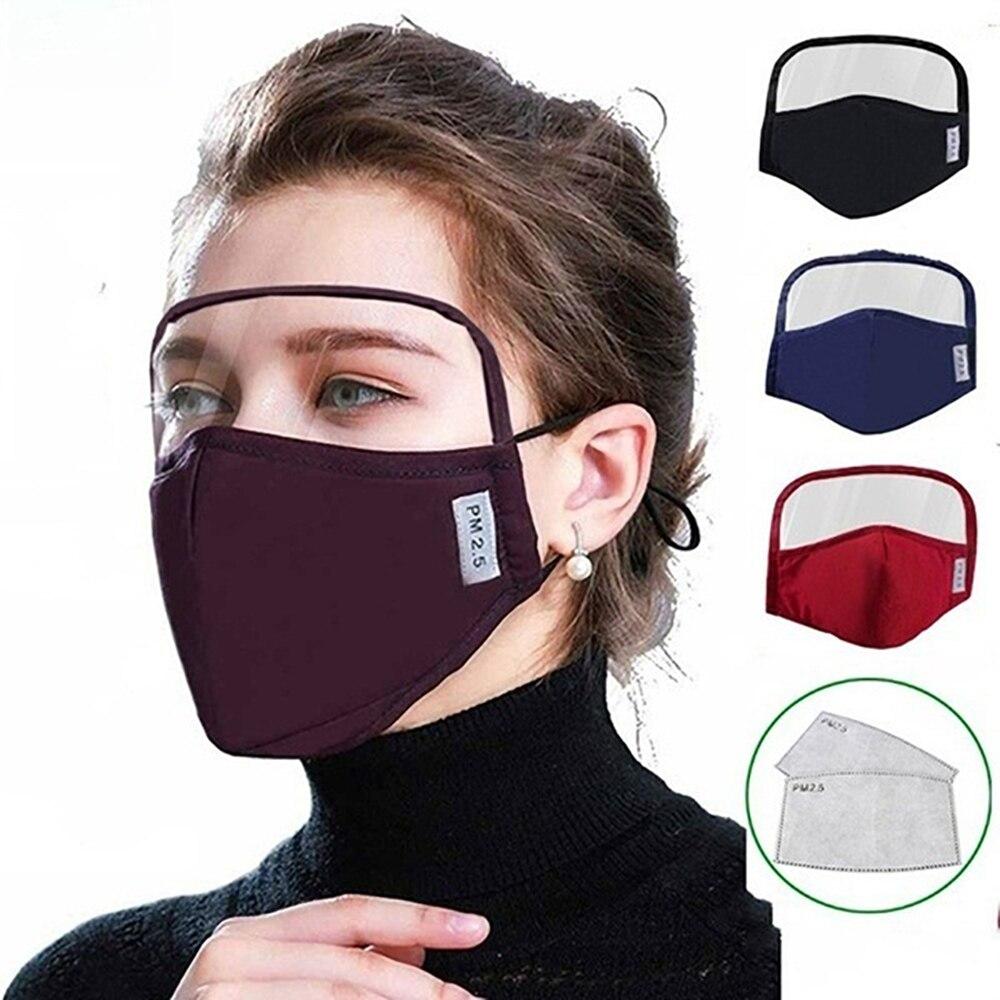Маска для лица mascarillas смываемая маска для лица с фильтром против брызг слюнявчик респиратор многоразовая маска для рта facemask|Маски для вечеринки|   | АлиЭкспресс